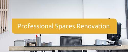 Professional Spaces Renovation